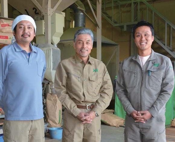 新規需要米として 輸出用米に取り組む