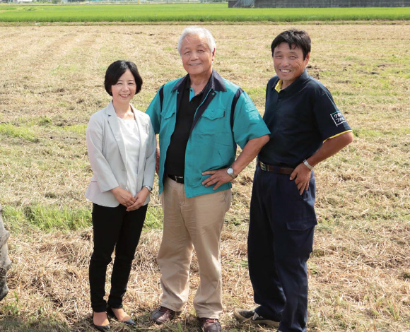 持続可能な農業と地域貢献