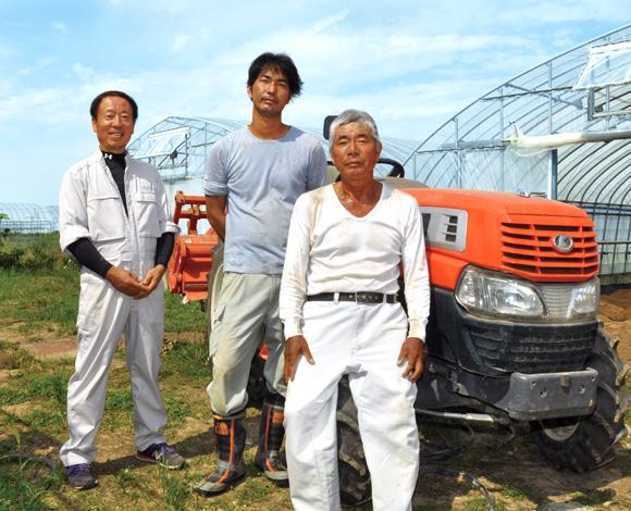 施設園芸を中心とした野菜の周年栽培で、安定経営を実現!