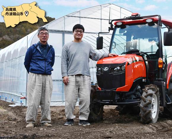 始めたその日から、ベテラン農家と同じような 精度で作業できるGSトラクタ『Slugger GS』。