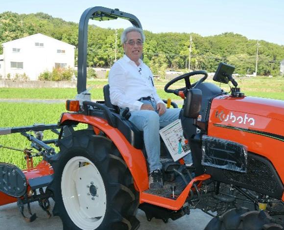 【クボタトラクタ NB21GS】代かきが高精度に! 水稲でも直進アシスト機能付き小型トラクタが活躍