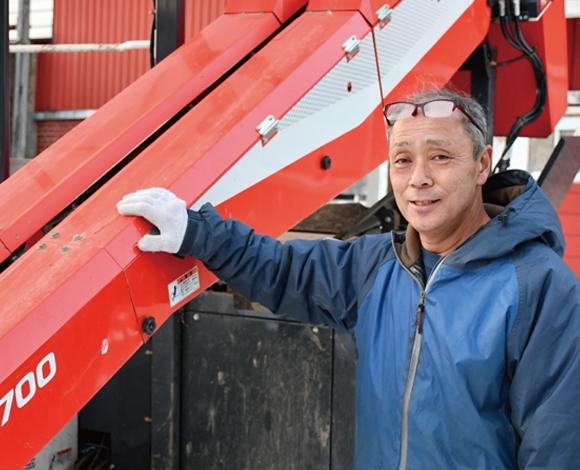 【だいこん収穫機GRH1700】 収穫機の導入で、働き方改革!