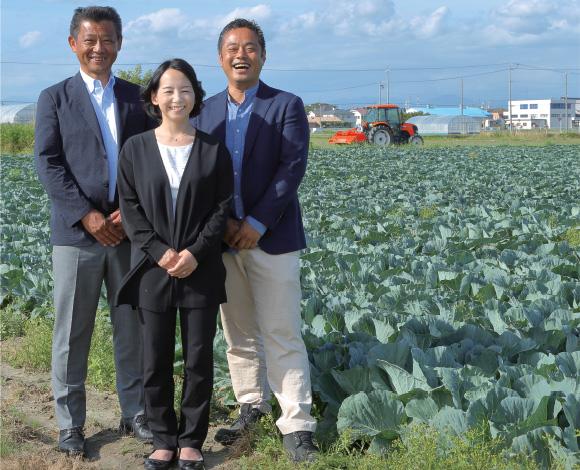 未来の農業経営と流通