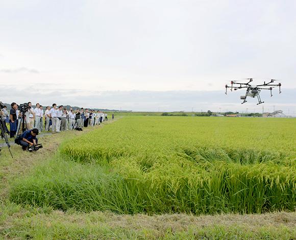 水田管理作業のスマート化で宮城県農業の未来を拓く!超低コスト輸出米生産実証